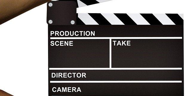 Klappe Filmaufnahme Content Marketing