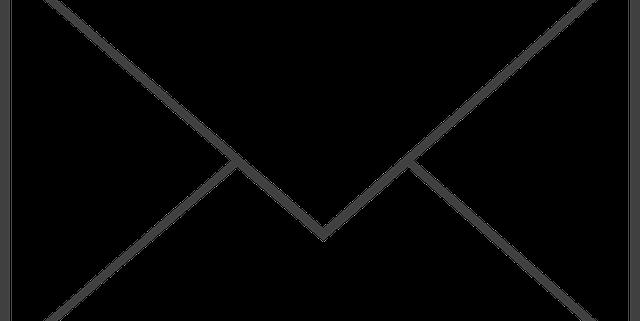 Grafik-Symbol für E-Mail bzw. Kuvert