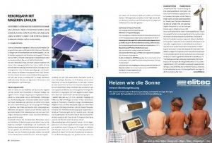 Bild eines Reportagetextes über Photovoltaik Förderungen